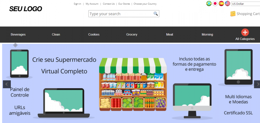 Supermarket OnLine - OnLine Shopping Cart for Supermarket