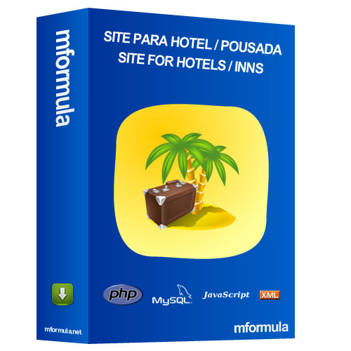 Site for Hotel - Resort with Booking System and Payment Online