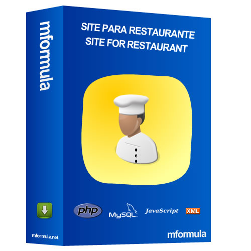 Website for Restaurant - Chef - Gastronomy